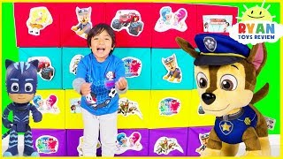 Giant Smash Surprise Toys with Paw Patrol, Jurassic World Dinosaur, Incredible 2