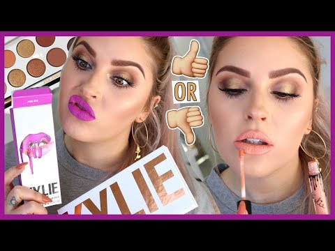 KYLIE COSMETICS Makeup Tutorial & Swatches ? & GIVEAWAY ?