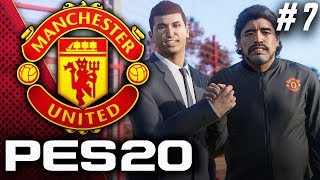 Signing This Insane Argentine Beast!! - PES 2020 Manchester United Master League EP7