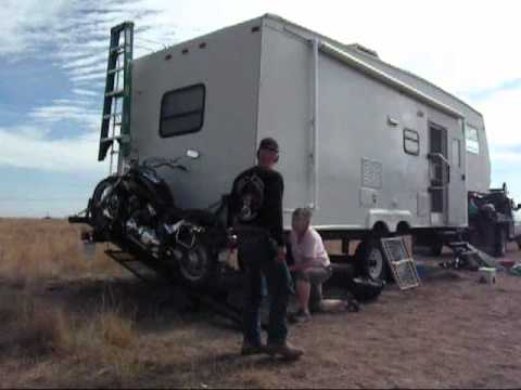 Cowboy Built Motorcycle Carrier Wmv Youtube