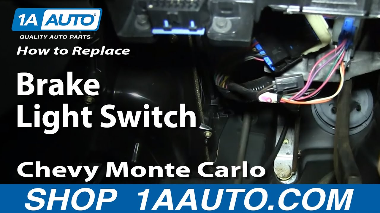 how to install replace fix brake light switch 2000 05 gmc sierra throttle position wiring