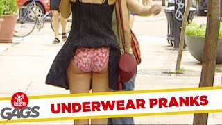 Pranking in Underwear - Best of Just For Laughs Gags