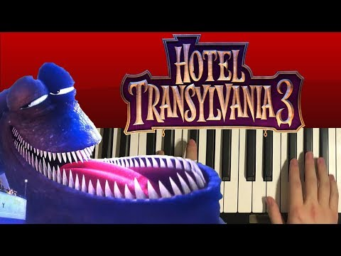 How To Play – Kraken Theme – Hotel Transylvania 3 (PIANO