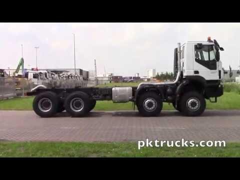 iv3739 - Iveco TRAKKER AD410T45W E6 8x8  chassis cabin - NEW