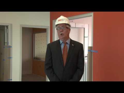 BGSU Kuhlin Center Update (former South Hall)