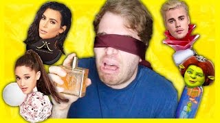 TRYING WEIRD CELEBRITY PERFUMES
