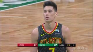 Jeremy Lin Returns from Injury - Hawks at Celtics 12/14/18