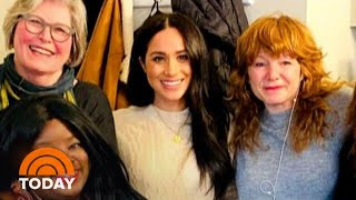 See New Photos Of Meghan Markle In Her First Outing Since Megxit Announcement | TODAY