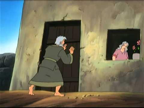 Samson et Dalila en dessin animé