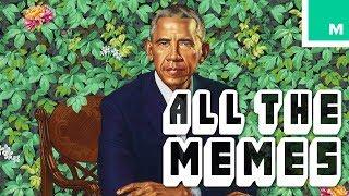 The Internet Celebrates the Iconic Obama Portraits