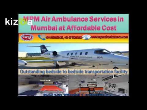 MPM Air Ambulance Services in Chennai with Medical Team