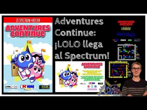 PCNONO Games & Ctrl +C regresan con Adventures Continue (Adventures of Lolo Demake)