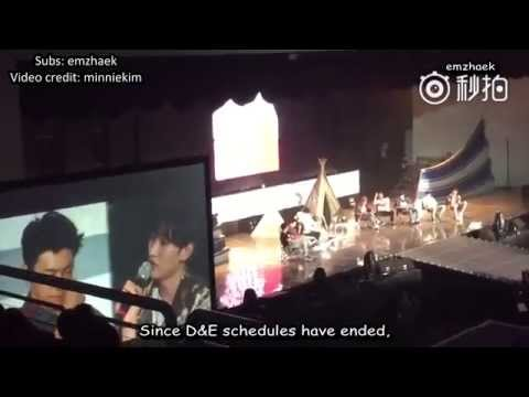 [ENG SUB] 150919 Super Camp - Eunhyuk's message to Donghae