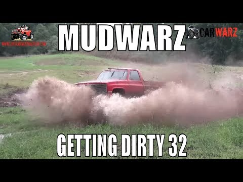 MUDWARZ - GETTING DIRTY VOL 32 - MUD BOG ACTION