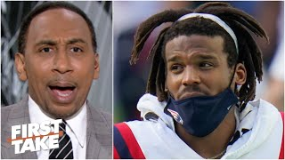 'No way in hell' Cam Newton is still a starting QB in the NFL - Stephen A. | First Take