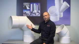 Large Diameter PVC Fittings for Plumbing Systems