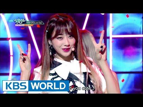 9MUSES - Love City |  나인 뮤지스 - 러브시티 [Music Bank / 2017.08.04]