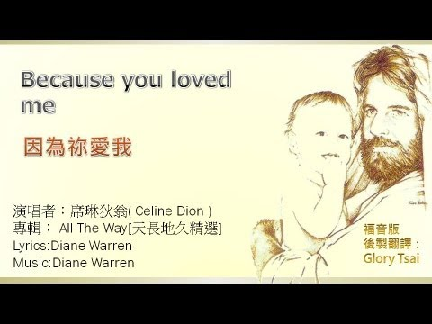 榮耀之聲--11  Because you loved me  因為祢愛我  -- 中文字幕 福音版 詩歌版