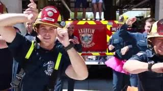 Anaheim Firefighters dance in tutus for a great cause!