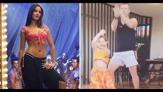 Watch: David Warner and his daughter dances on Katrina Kai..
