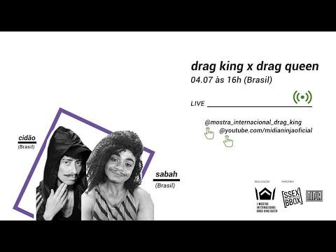 Drag King x Drag Queen | Mostra internacional drag king