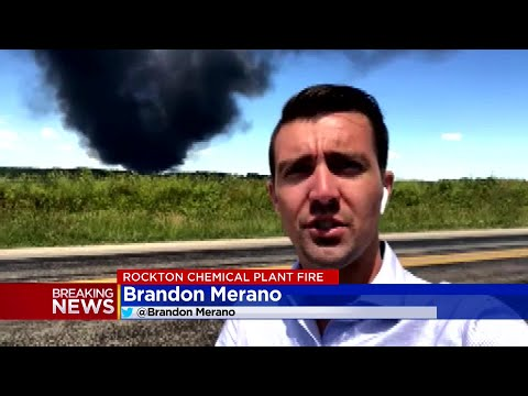 Authorities In Rockton, Illinois, Letting Chemical Plant Fire Burn Itself Out
