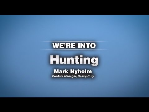 A Company of Enthusiasts: We're Into Hunting
