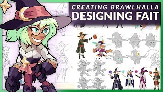 Designing Fait - Creating Brawlhalla