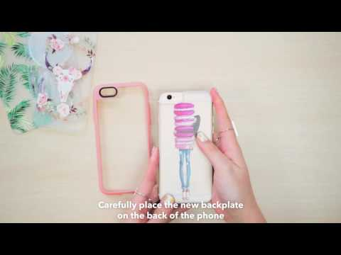 How to change your Casetify iPhone 6S/+ New Standard™ Backplate