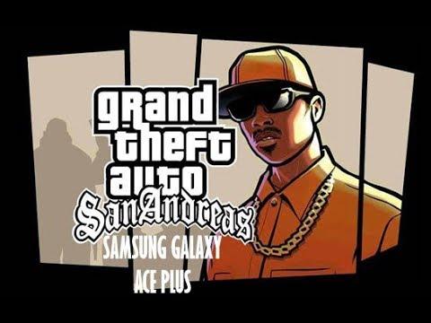 Gta San Andreas On Samsung Galaxy Ace Plus Test Low-High Quality ...