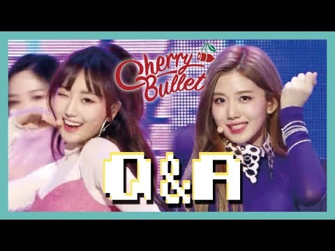 [Hot Debut] Cherry Bullet -  Q&A, 체리블렛 - Q&A Show Music core 20190126