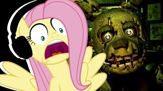 Fluttershy plays Five Nights at Freddy's 3 🍉 | LOSING IT!