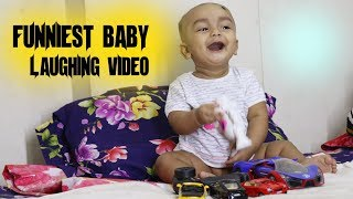 6 Month Baby Laughing and Playing with His Dad | Very Interesting Baby Video | Best Funniest Babies