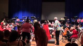 Mendelssohn clowning around with guest conductor