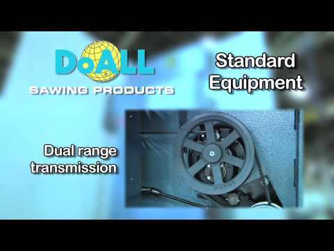 DoALL  2013-V3 Vertical Contour Bandsaw