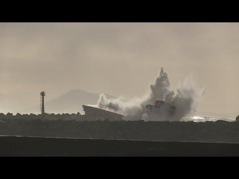Cargo Luno : les plages landaises sous surveillance