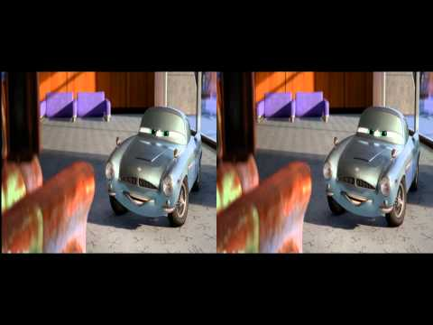 Cars 2 3d Trailer in 3d