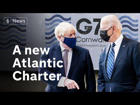 US president Joe Biden meets with Boris Johnson ahead of G7 summit in Cornwall