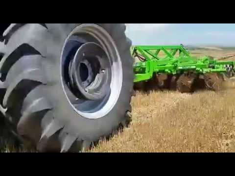 Combined Tillage Machine Field Show