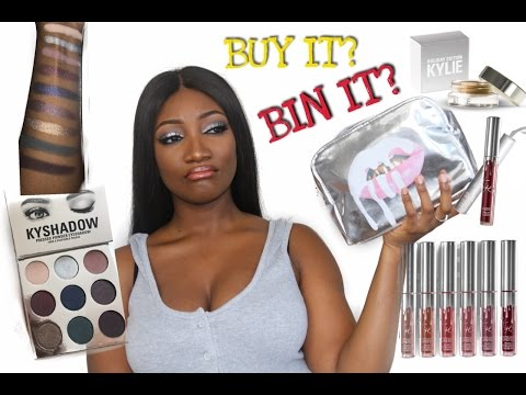 KYLIE HOLIDAY COLLECTION | Honest Review + Swatches On Darkskin !!!