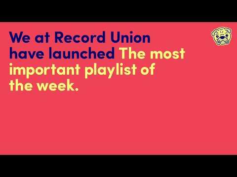Record Union - Playlist S