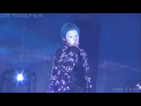 190321 BTS 방탄소년단 Singularity V 뷔 Focus (4K) @ LOVE YOURSELF IN HK