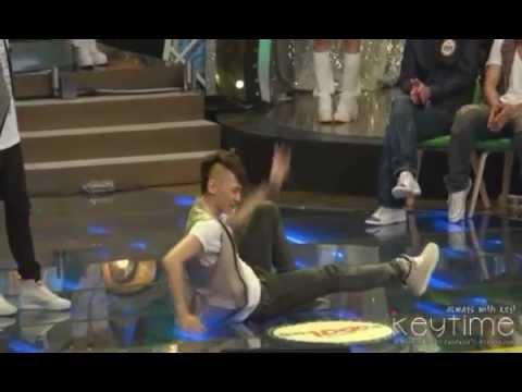 [FANCAM] 100905 SHINee Key Dancing Miss A's 'Bad Girl Good Girl' @ |OOO $0ng$ Recording
