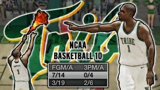 NCAA Basketball 10 | William & Marry Tribe #9 | Harvey Dah Fraud?