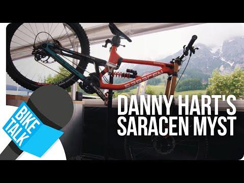 Bike Talk - Danny Hart's Saracen Myst | SHIMANO