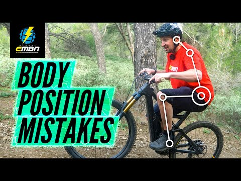 5 Common Body Position Mistakes To Avoid When Riding EMTB