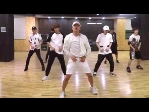 INFINITE - Bad - mirrored dance practice video - 인피니트 베드 안무영상