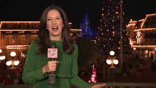 #DisneyParksLIVE - A Frozen Holiday Wish 2018   Walt Disney World