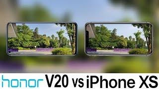 Honor V20 Vs iPhone XS Camera Test