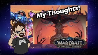 Blizzcon 2018 - World of Warcraft: Battle for Azeroth - Drak VLOGS!